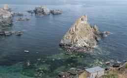 Ensenada natural en Galicia Fotografía de archivo libre de regalías