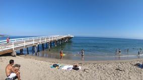 Ensenada Pier Malibu de Paradise almacen de video