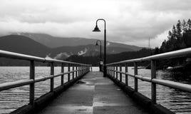 Ensenada profunda, Vancouver, Canadá Imagenes de archivo