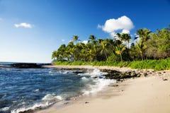 Ensenada secreta en Hawaii Fotos de archivo