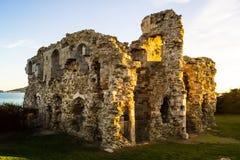 Ensenada Weymouth del castillo foto de archivo libre de regalías