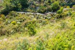 Enshi grand canyon Stock Photo