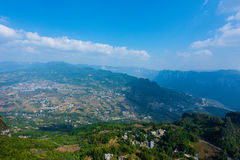 Enshi Grand Canyon landscapes. Landscape of Enshi grand canyon, It is located in enshi city, hubei province, china, 5A scenic spots Stock Photography