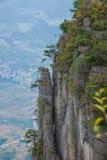 Enshi Uroczystego jaru góry krajobrazy Fotografia Stock