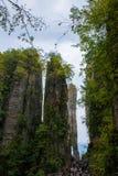 Enshi Uroczystego jaru góry krajobrazy Zdjęcie Royalty Free