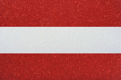 Ensign austria. The ensign of austria made of twinkling glittermaterial Stock Photos