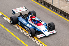 Ensign N180 F1 car Royalty Free Stock Photo