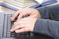 Ensino electrónico Imagens de Stock Royalty Free