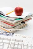 Ensino electrónico Foto de Stock