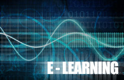 Ensino electrónico ilustração do vetor