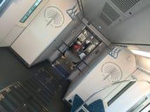 Enskenig järnväg Dubai Arkivfoton