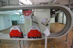 Enskenig järnvägtransportsystem Royaltyfri Fotografi
