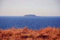 Ensliga öar, Coffs Harbour, Australien royaltyfri fotografi