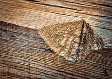 Entaille en vieux bois photos libres de droits