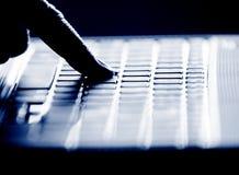 Entaille simple de doigt photos libres de droits