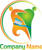 Ental pary logo Fotografia Stock