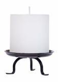 Entalhe branco da vela Imagens de Stock
