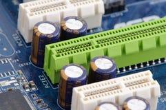 Entalhe de PCIE Foto de Stock