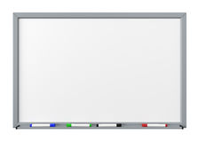 Entalhe de Whiteboard Foto de Stock
