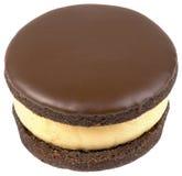 Entalhe do bolo de chocolate Fotografia de Stock Royalty Free