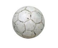 Entalhe do futebol da esfera de futebol Fotos de Stock