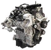 Entalhe do motor do motor do carro auto isolado Imagens de Stock