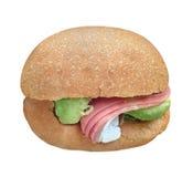 Entalhe grande do sanduíche Foto de Stock Royalty Free