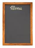 Entalhe vazio da placa do menu Fotografia de Stock Royalty Free