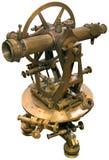 Entalhe velho do tacheometer do theodolite Foto de Stock Royalty Free