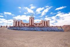Entallada lighthouse, Fuerteventura, Canary island, Spain. Royalty Free Stock Images