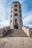 Entance da torre de pedra Foto de Stock