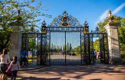 Entance gate to the Regent's Park Royalty Free Stock Photography