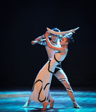 Entanglement-Errand into the maze-Modern dance-choreographer Martha Graham. In December 19, 2014, Shi Feifei the dancer dance work session held in the South hall Royalty Free Stock Photos