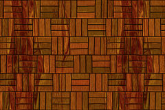 Entarimado de madera Imagen de archivo