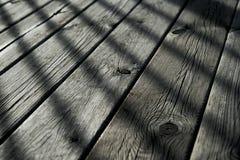 Entarimado de madera Imágenes de archivo libres de regalías