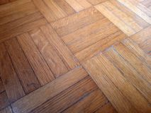 Entarimado de madera ligero Geometrías de las líneas de las curvas Imagen perfecta para un fondo fotografía de archivo