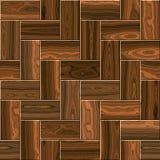 Entarimado de madera, suelo laminado imagenes de archivo