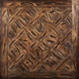 Entarimado modular de la élite Suelo de madera natural con textura y el modelo de lujo Visión superior fotografía de archivo libre de regalías