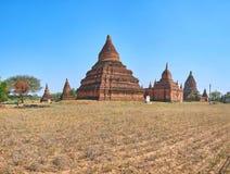 Entdecken Sie das Bagan, Myanmar Stockbild