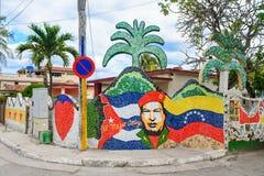 Entdecken Sie Fusterlandia in Havana Cuba lizenzfreie stockfotos