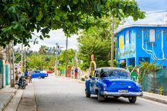 Entdecken Sie Fusterlandia in Havana Cuba lizenzfreies stockbild