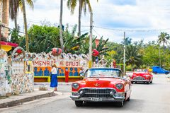 Entdecken Sie Fusterlandia in Havana Cuba stockfotos