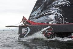 Entdecken Sie Irland In-Kanal Rennen Stockfoto