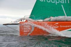 Entdecken Sie Irland In-Kanal Rennen Lizenzfreie Stockfotografie