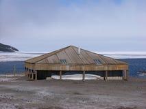 Entdeckung-Hütte Stockfoto