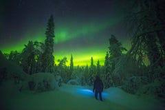 Entdeckung von Lappland Lizenzfreie Stockfotos
