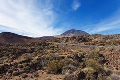 Entdeckung von Pico Del Teide Lizenzfreie Stockbilder