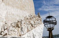 Entdeckungs-Monument Lissabon Portugal Lizenzfreies Stockfoto