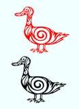 Ente aufwändig Lizenzfreie Abbildung