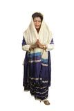 Ente completo dei vestiti indiani tradizionali Immagini Stock Libere da Diritti